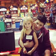 Mia Talerico and Bradley Steven Perry