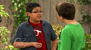 Gabe and friend talking