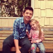 Bradley Steven Perry and Mia Talerico