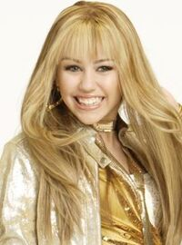 Hannah blu died hair