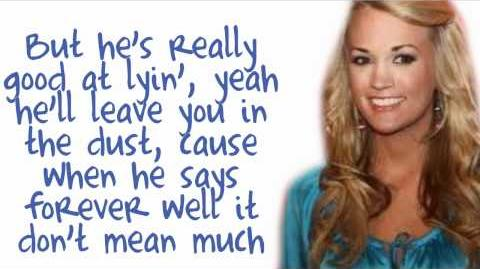 Good Girl - Carrie Underwood - Lyrics