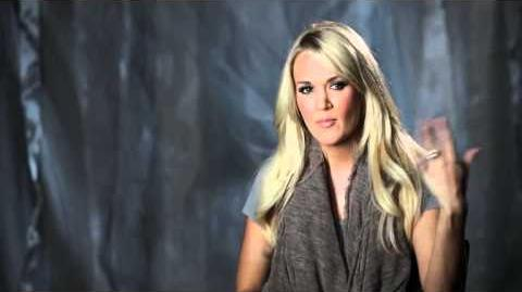 """Carrie Underwood Talks About """"Blown Away"""""""