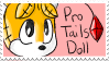 File:Pro Tails Doll Stamp by GirGrunny.png