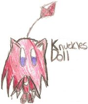 Knuckles Doll by Arsenal EXE