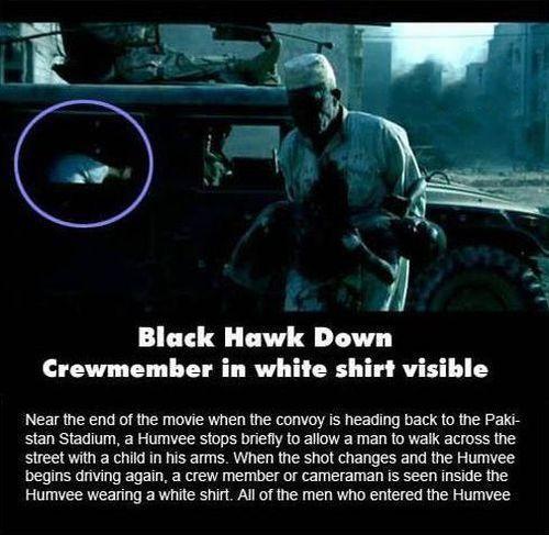 Black Hawk down crew member
