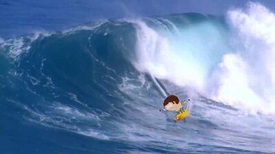 Surfing jimmy