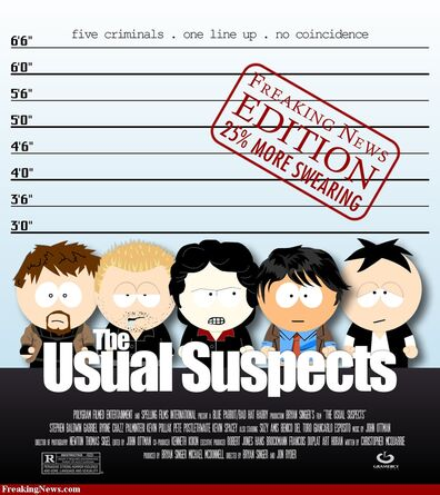 The usual suspects south park