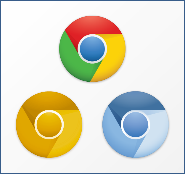 Image New Google Chrome Icons By Carlosjj D3br23wg Google