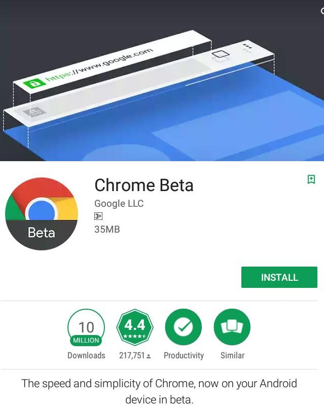 Google Chrome Beta | Google Wiki | FANDOM powered by Wikia