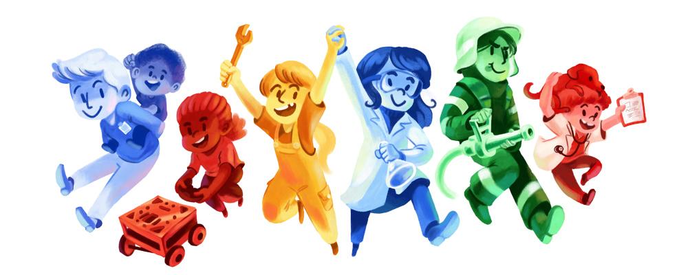 girls and boys day 2016 googledoodle wikia fandom powered by wikia