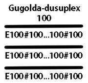 Gugolda-dusuplex