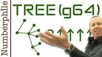 TREE vs Graham's Number - Numberphile