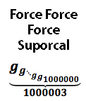 Force Force Force Suporcal