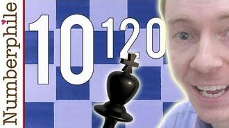 Numberphile - How many chess games are possible?