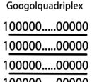 Googolquadriplex