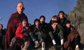 The goonies all together