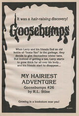 OS 26 My Hairiest Adventure bookad from OS25
