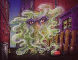Scream of the Evil Genie (Full Art)