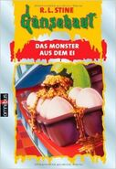 Egg Monsters from Mars - German Cover - Das Monster aus dem Ei