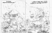Invasion of the Body Squeezers; Part 1 & 2 - concept art