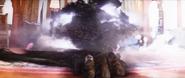 Goosebumps (film) - Snowman emerging