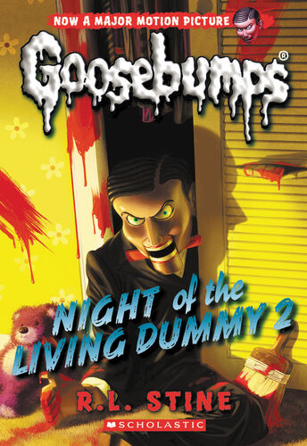 Image result for night of the living dummy 2 book cover
