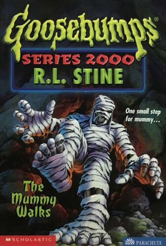 The mummy walks goosebumps wiki fandom powered by wikia - Goosebumps werewolf in the living room ...
