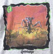 35 Shocker Shock street grey bordered t-shirt detail