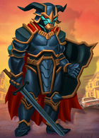 Goosebumps HorrorTown Evil Knight