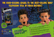 Haunted Mask II VHS 1997 trade print ad etdweekly