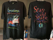 Horrorland Fright Show Disney 1997 T-shirt f+b