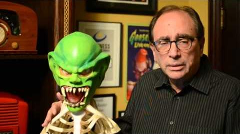R. L. Stine Announces Goosebumps The Movie!