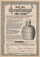 Fan Club Barrel bookad from orig series 30 1995