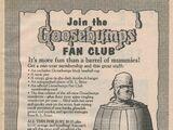 Goosebumps Fan Club and Collectors Club