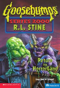 Return to HorrorLand (Cover)