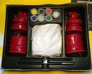 Make and Paint Creepy Caskets box inside