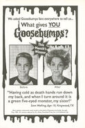 What Gives You Goosebumps contest winner in orig series 26 1stpr Dec 1994