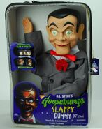 Slappy doll in box