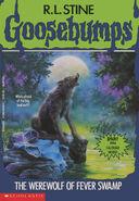 OS 14 Werewolf Fever Swamp cover 1stprint w 1994 calendar