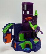 27 Night in Terror Tower 1996 MicroVerse Playset unpkg opened