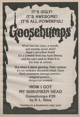 OS 39 How I Got My Shrunken Head bookad from OS38