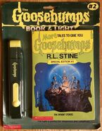 More tales to give you goosebumps book light