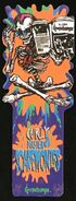 Curly Scaremonies Antioch bookmark shapemark front