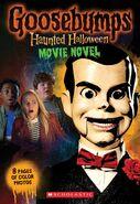 Goosebumps Haunted Halloween Movie Novel