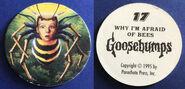 17 Afraid of Bees 1995 Pog Cap f+b