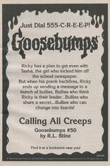 OS 50 Calling All Creeps bookad from OS49