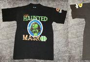 36 Haunted Mask II circle bonefont black TC T-shirt f+s nb