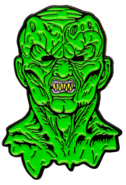 Goosebumps haunted mask pin