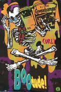 Curly w book Boo Dude OSP publ poster