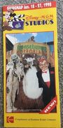 Horrorland Fright Show Disney Guide Map Jan 18-27 1998